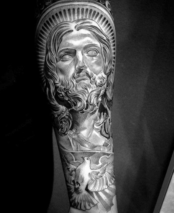50 Jesus Forearm Tattoo Designs For Men Christ Ink Ideas Ideas And Designs