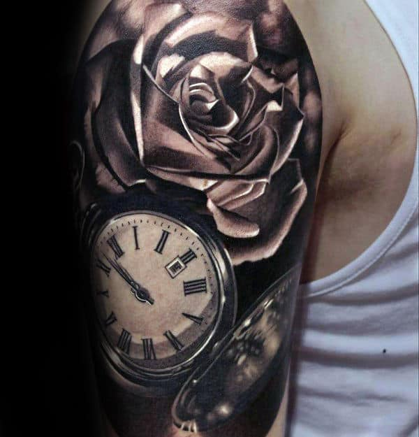 90 Realistic Rose Tattoo Designs For Men Floral Ink Ideas Ideas And Designs