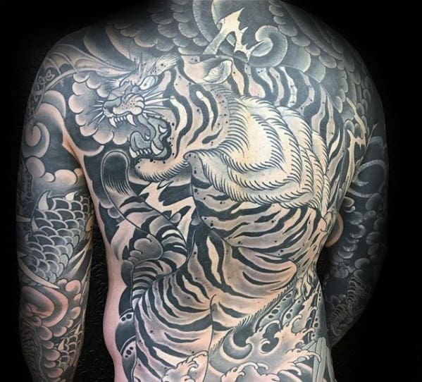 50 Japanese Back Tattoo Designs For Men Traditional Ink Ideas And Designs