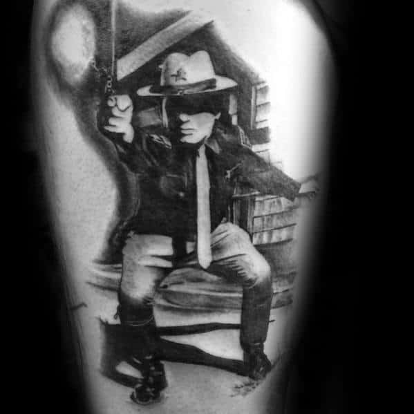 50 Police Tattoos For Men Law Enforcement Officer Design Ideas And Designs