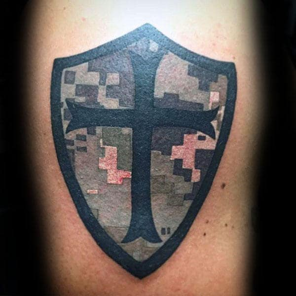 40 Camo Tattoo Designs For Men Cool Camouflage Ideas Ideas And Designs