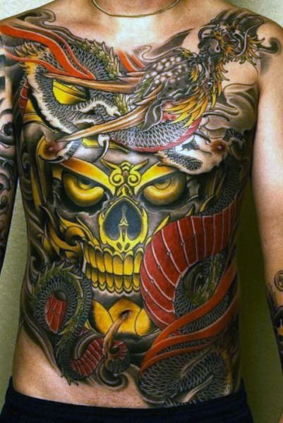 Top 100 Best Stomach Tattoos For Men Masculine Ideas Ideas And Designs