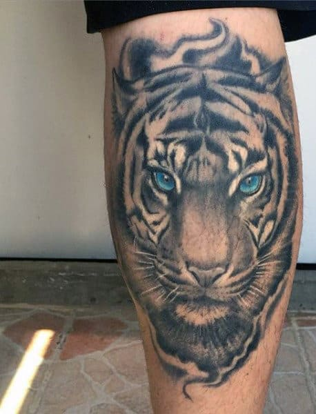 100 Tiger Tattoo Designs For Men King Of Beasts And Jungle Ideas And Designs
