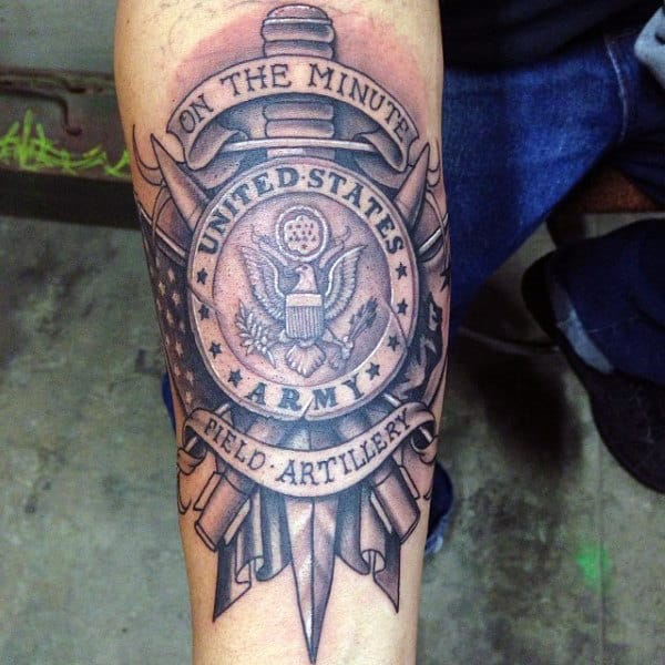 90 Army Tattoos For Men Manly Armed Forces Design Ideas Ideas And Designs