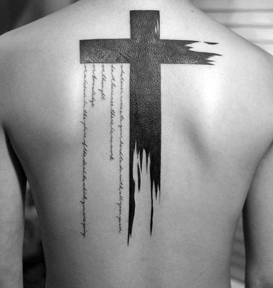 50 Simple Cross Tattoos For Men Religious Ink Design Ideas Ideas And Designs