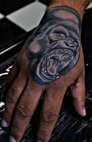 100 Gorilla Tattoo Designs For Men Great Ape Ideas Ideas And Designs