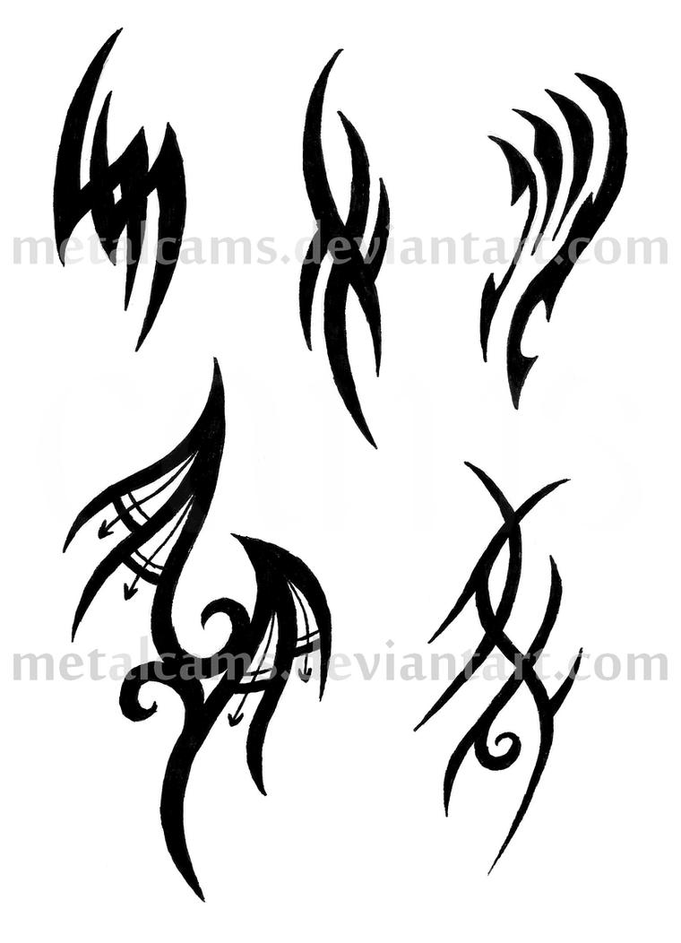 Abstract Tribal 1 By Metalcams On Deviantart Ideas And Designs