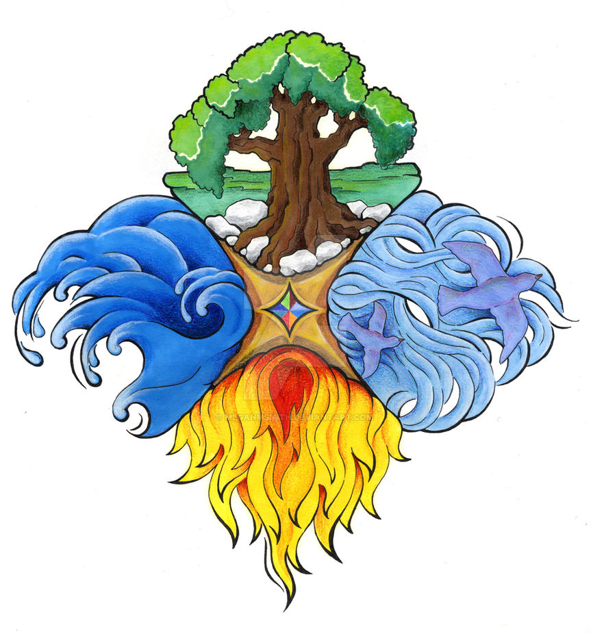 Four Elements By Meganmsmith On Deviantart Ideas And Designs