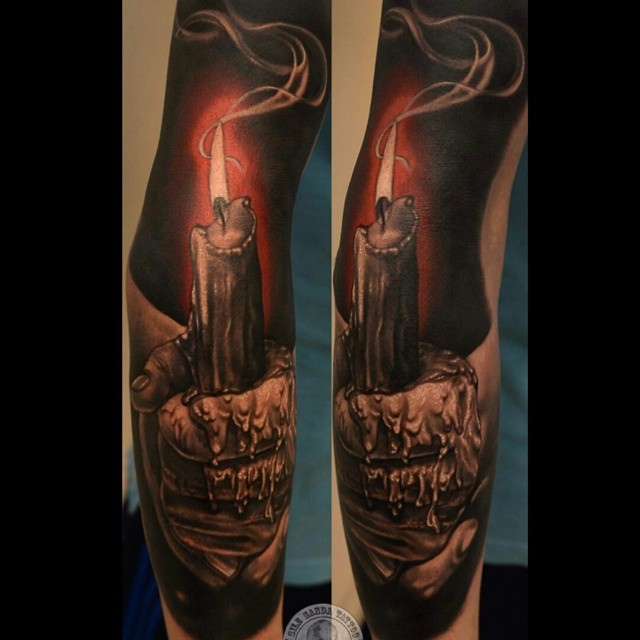 Hand Holding Burning Candle Tattoo Tattoo Geek Ideas Ideas And Designs