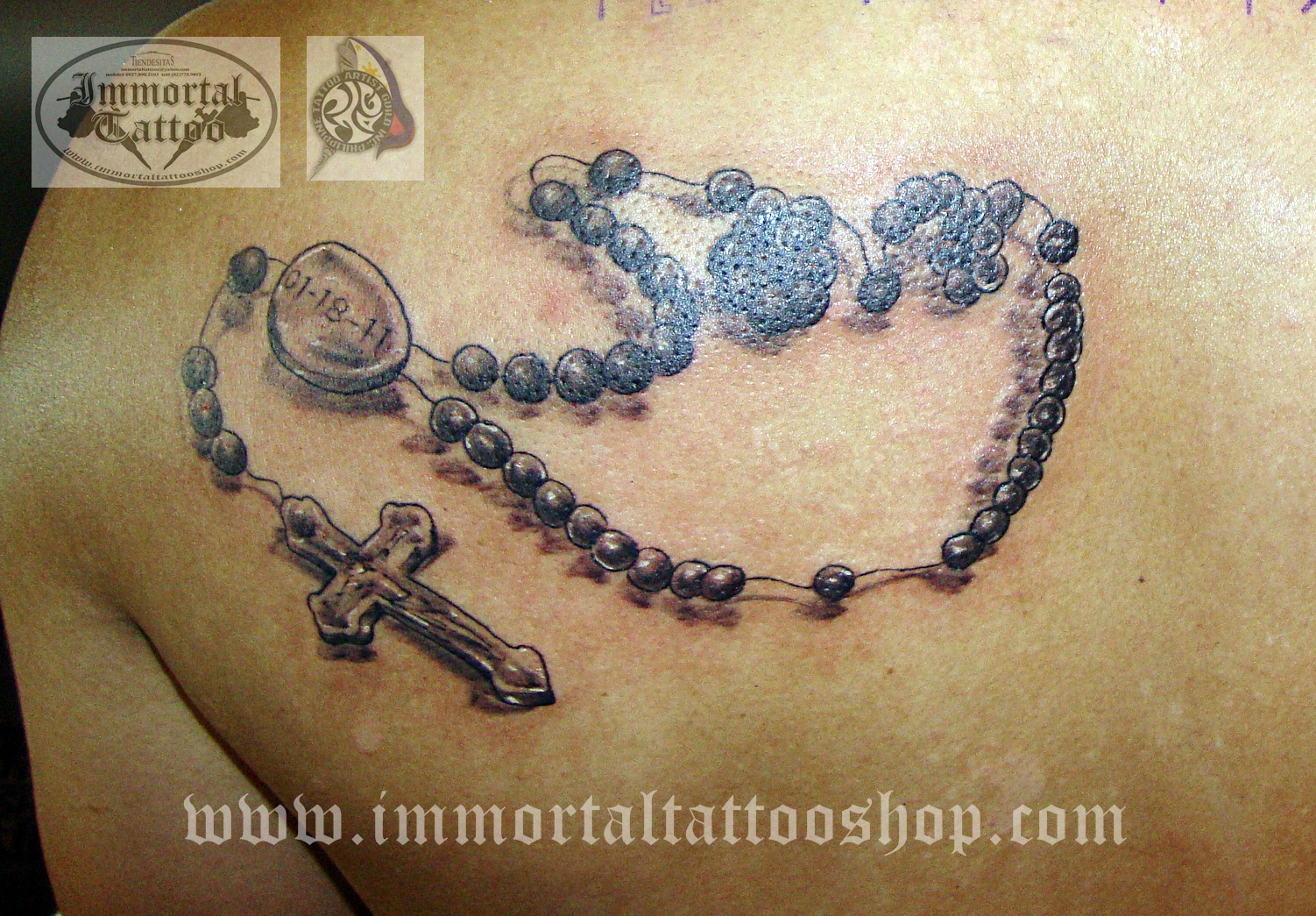 Immortal Tattoo Manila Philippines By Frank Ibanez Jr 3D Ideas And Designs