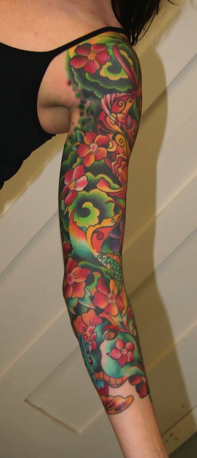 Latest Girls Sleeve Tattoos Designs Wallpapers Pictures Ideas And Designs