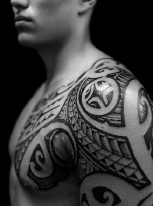 Tattoos For Men On Chest To Shoulder All Tattoo Ideas And Designs