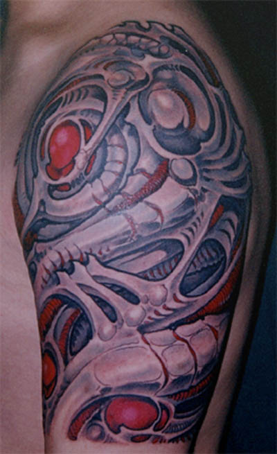 Biomechanical Tattoo Design Ideas And Designs