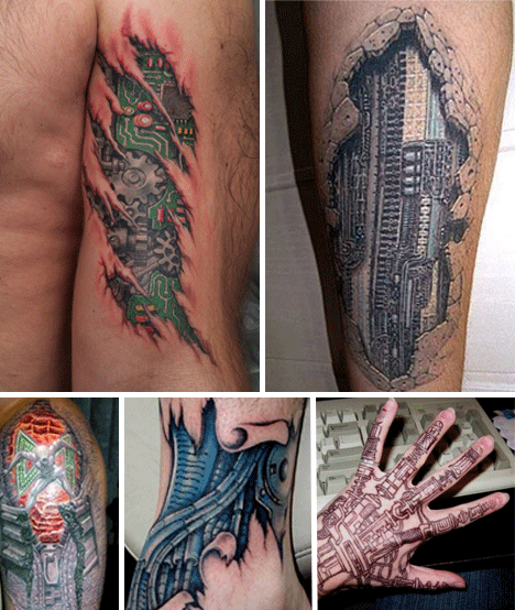 Biomechanical Tattoos Tattoo Designs Ideas And Designs