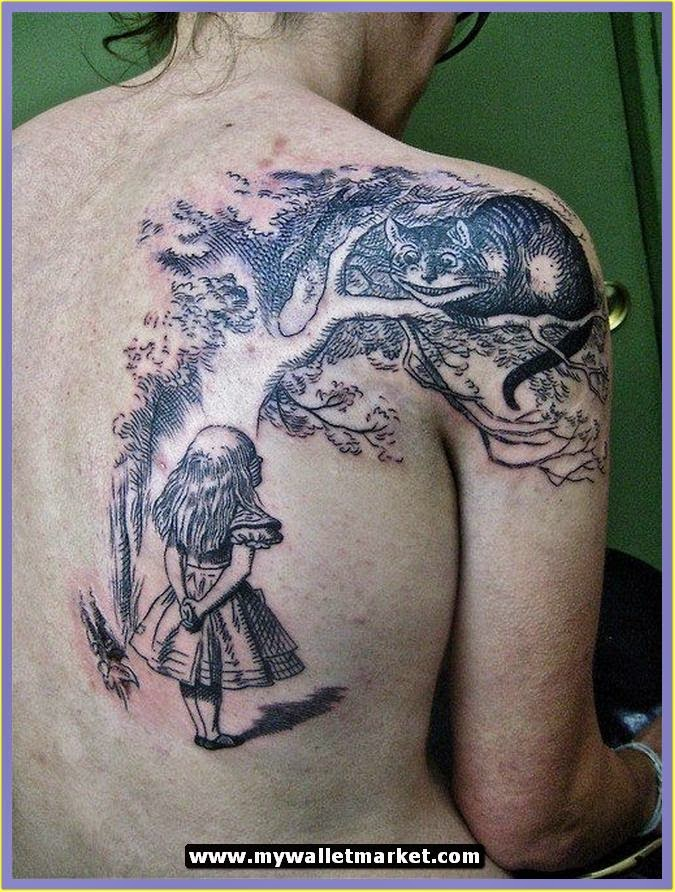 Awesome Tattoos Designs Ideas For Men And Women Alice In Ideas And Designs
