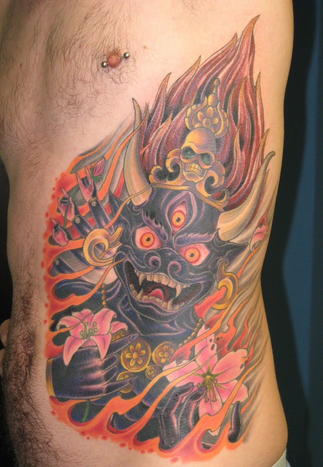 John Bicknell Tibetan Yamantaka Tattoo Ideas And Designs