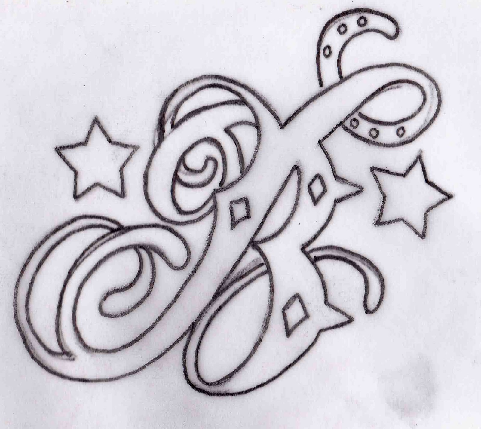 Russell Butler B Tattoo Design Ideas And Designs