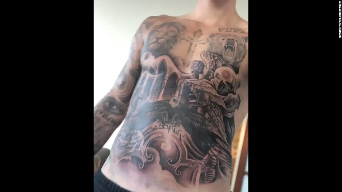 Justin Bieber Why His Torso Is In The News Cnn Ideas And Designs
