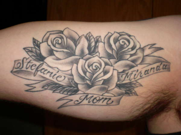 Three Roses Tattoo Ideas And Designs