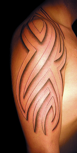 Tribal 3D Tattoo Tattoos Photo Gallery Ideas And Designs