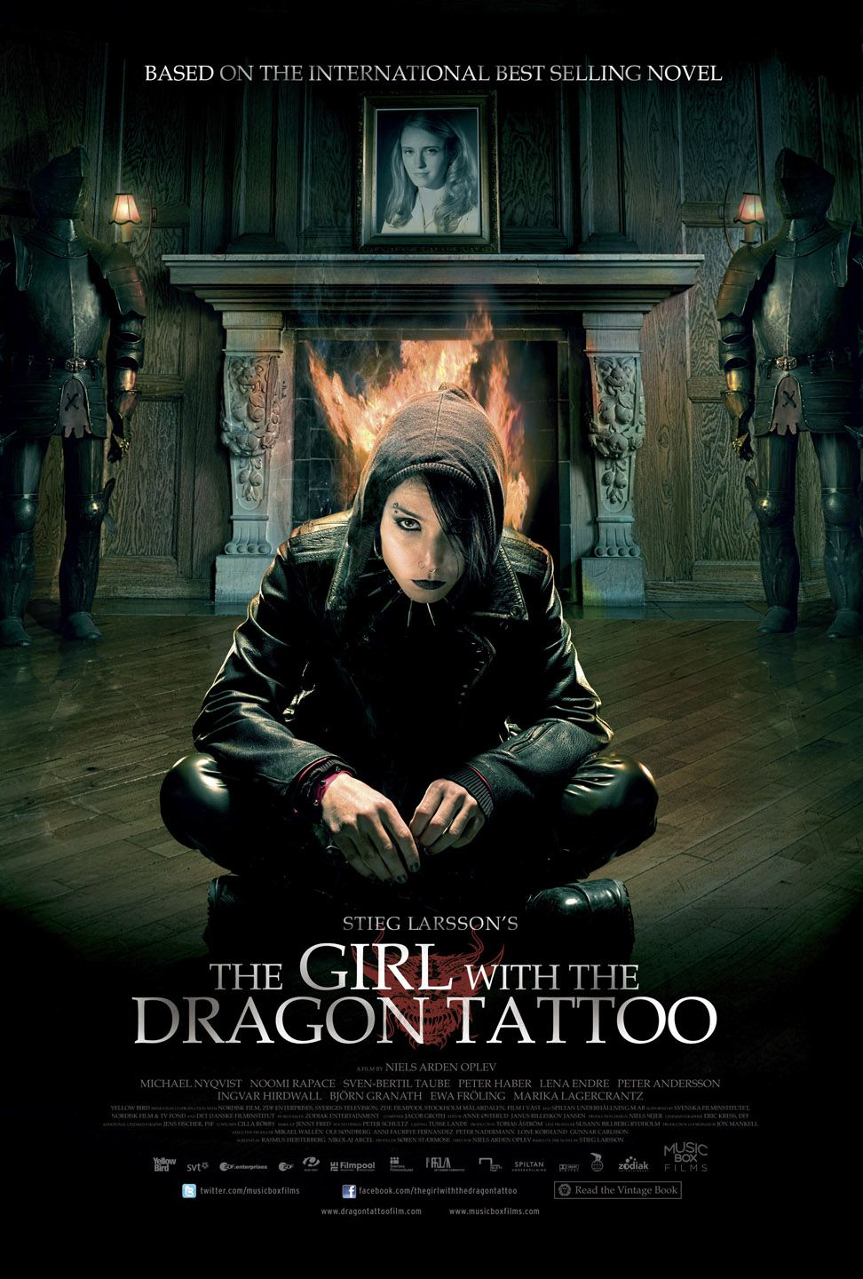 Happyotter The Girl With The Dragon Tattoo 2009 Ideas And Designs