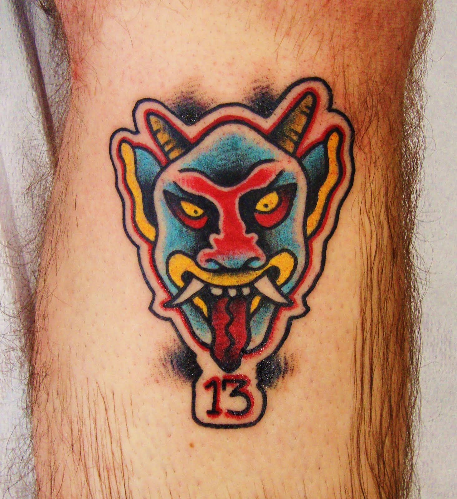 Red Rose Tattoo Parlour Friday The 13Th Devil From Ben Ideas And Designs