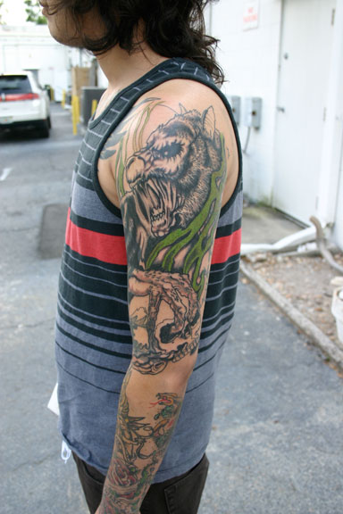 Trilogy Tattoos Russell Widner Werewolf 1 2 Sleeve In Ideas And Designs