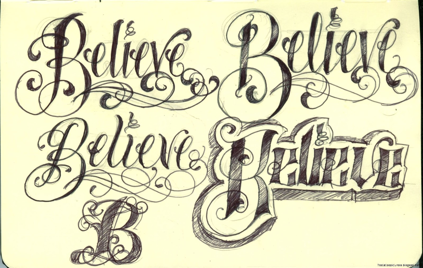 Tatoo Lettering Free Tattoo Pictures Ideas And Designs