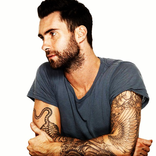 Daily Vibes Adam Levine Tattoos Ideas And Designs