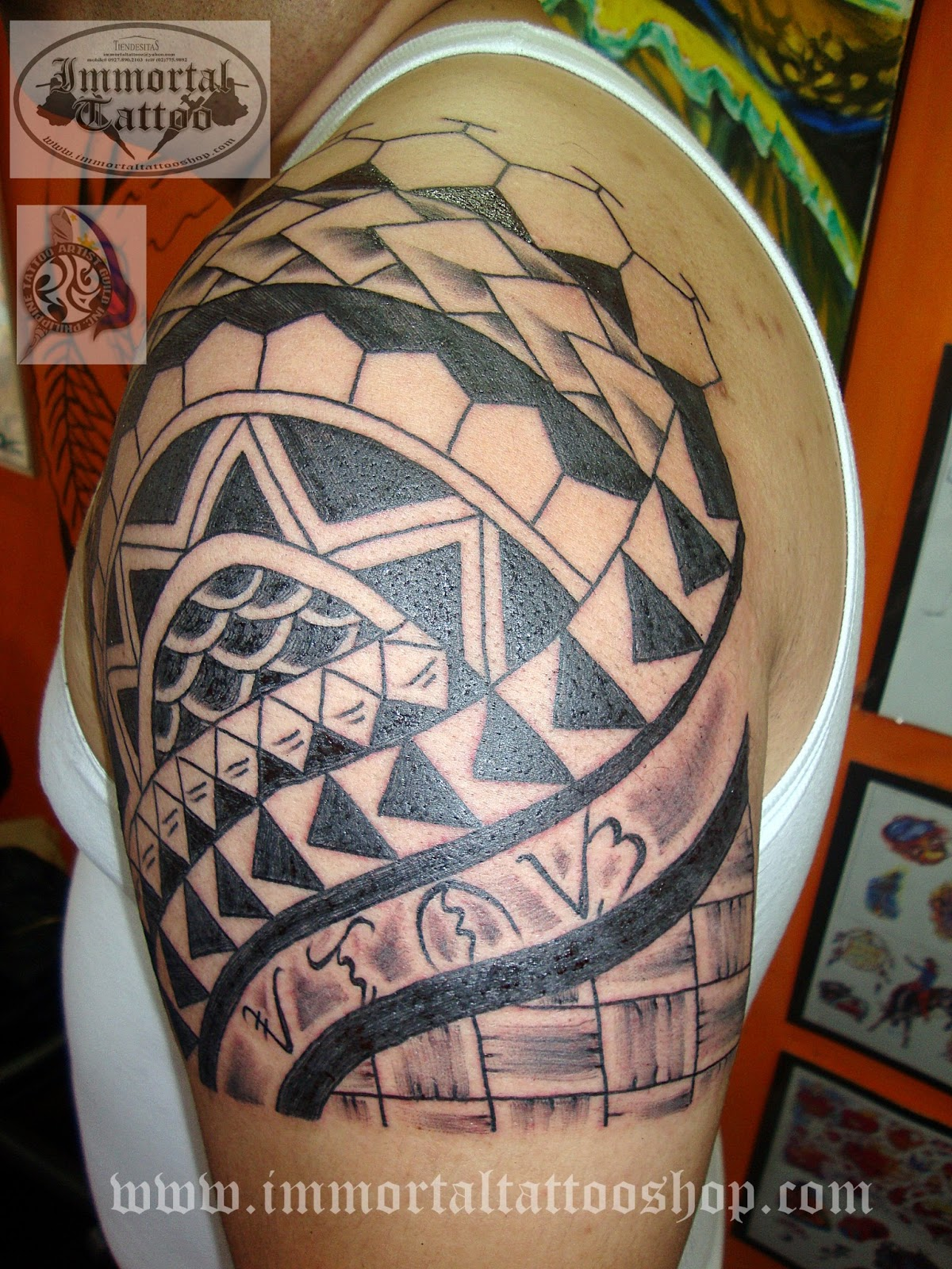 Immortal Tattoo Manila Philippines By Frank Ibanez Jr Ideas And Designs