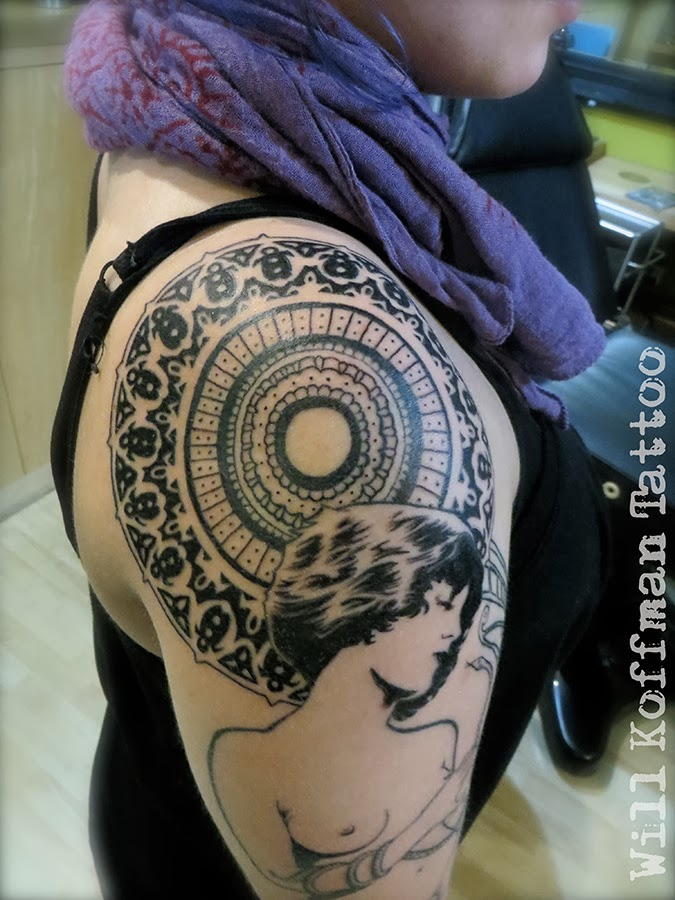 Will Koffman Tattoo Art Nouveau Ideas And Designs