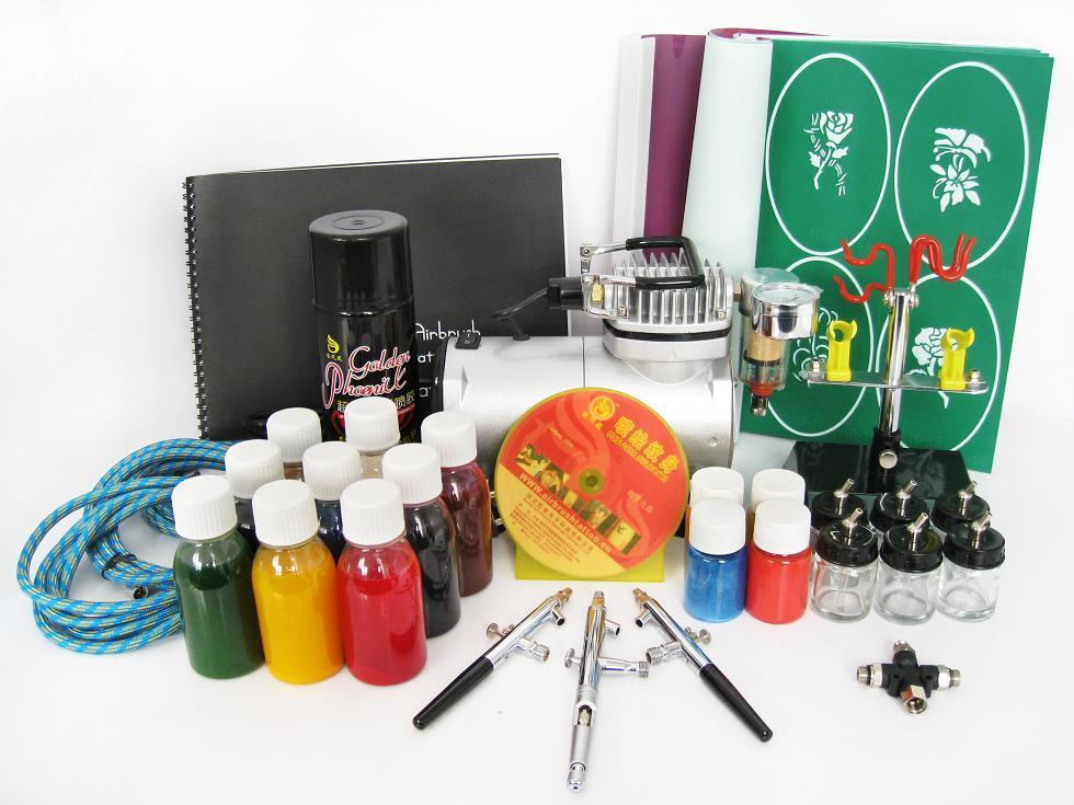 Tatto Uses For Airbrush Tattoo Kits Ideas And Designs