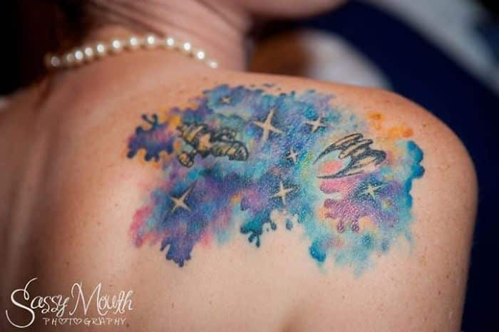 45 Space Tattoo Ideas For Astronomy L*V*Rs Designbump Ideas And Designs
