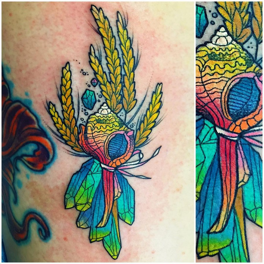43 Irresistible Shell Tattoos Page 3 Of 5 Tattoomagz Ideas And Designs