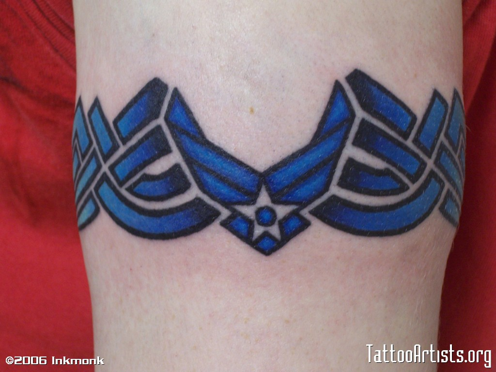 Air Force Tattoo Designs Air Force Armband Tattoo Artists Ideas And Designs