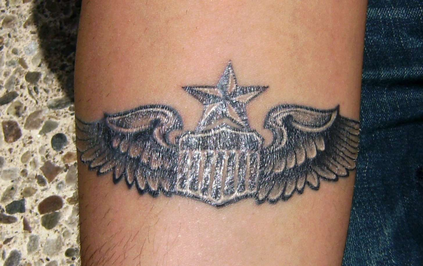 Air Force Tattoo Designs Worstfunniestmost Embarassing Ideas And Designs