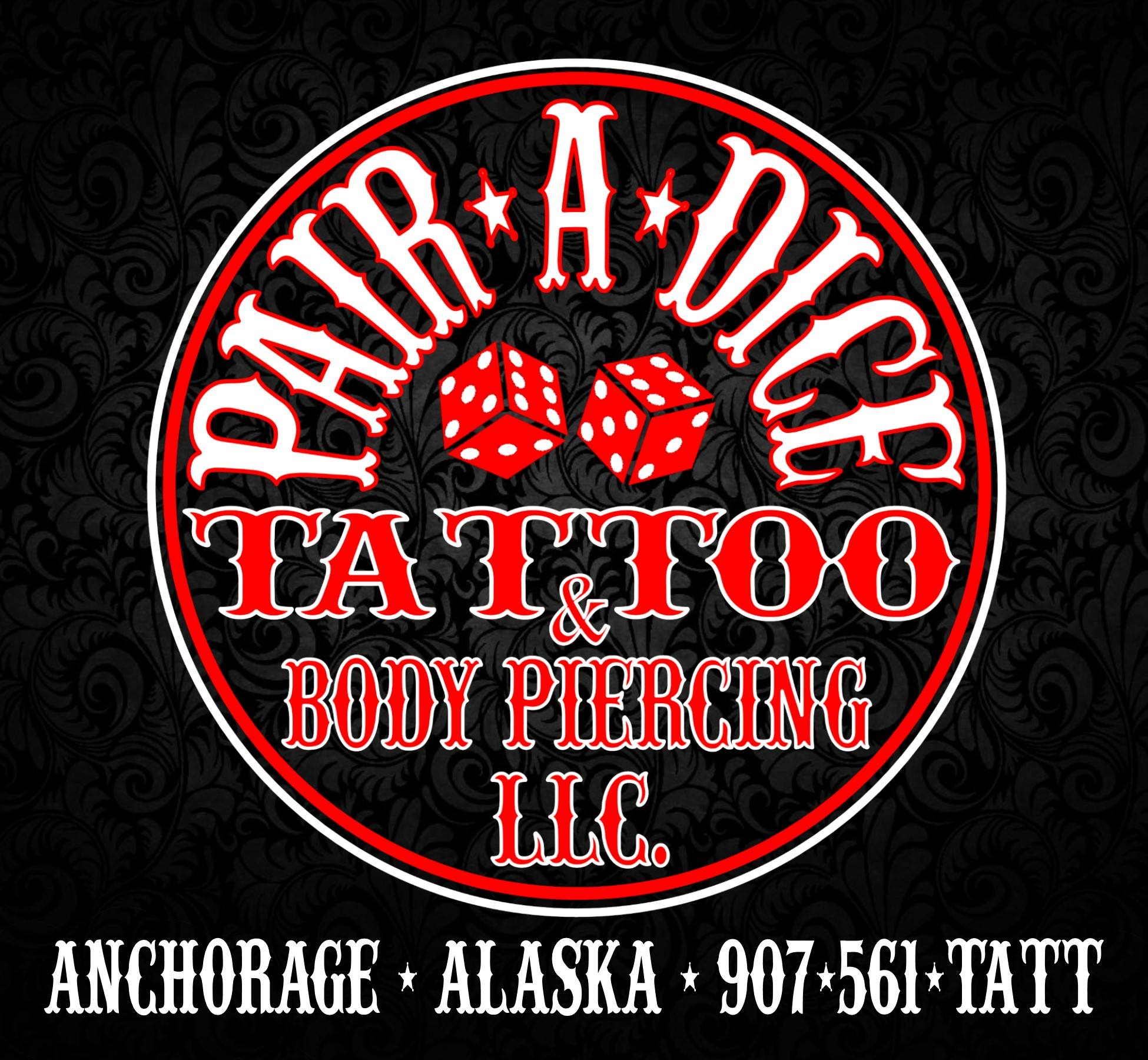 Pair A Dice Tattoo Shop Anchorage « Tattoo Shop Finder Ideas And Designs