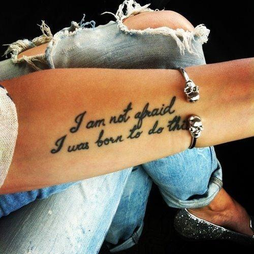Arm Quote Tattoos Women Fashion And Lifestyles Ideas And Designs