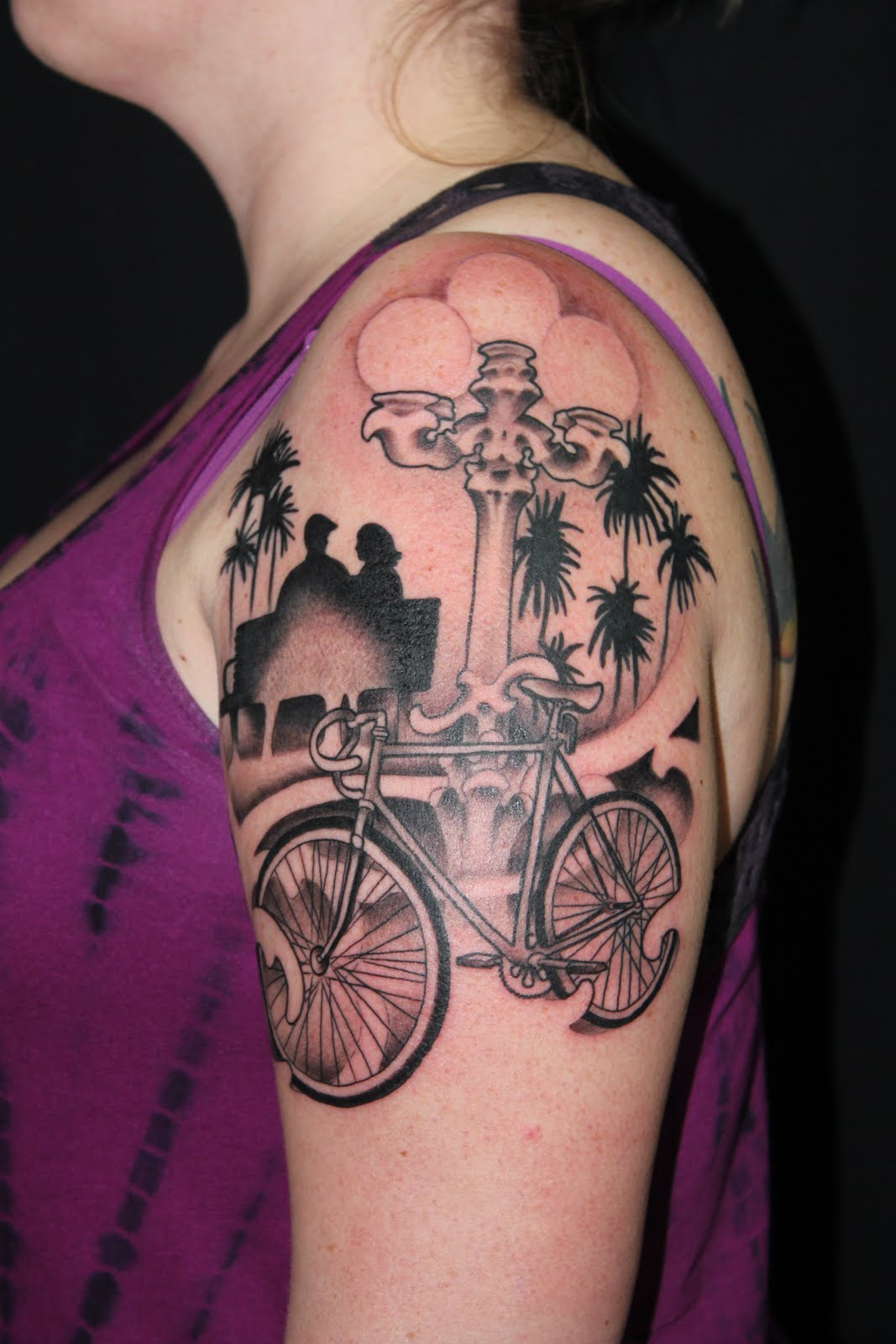 1000 Images About Bicycle Tattoos On Pinterest Fixed Ideas And Designs