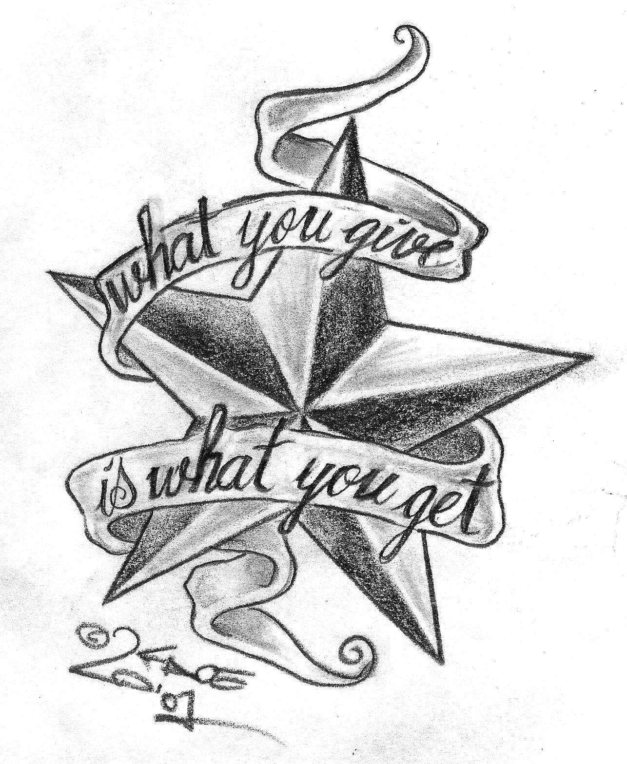 Wallpapers Star Tattoo Designs Ideas And Designs