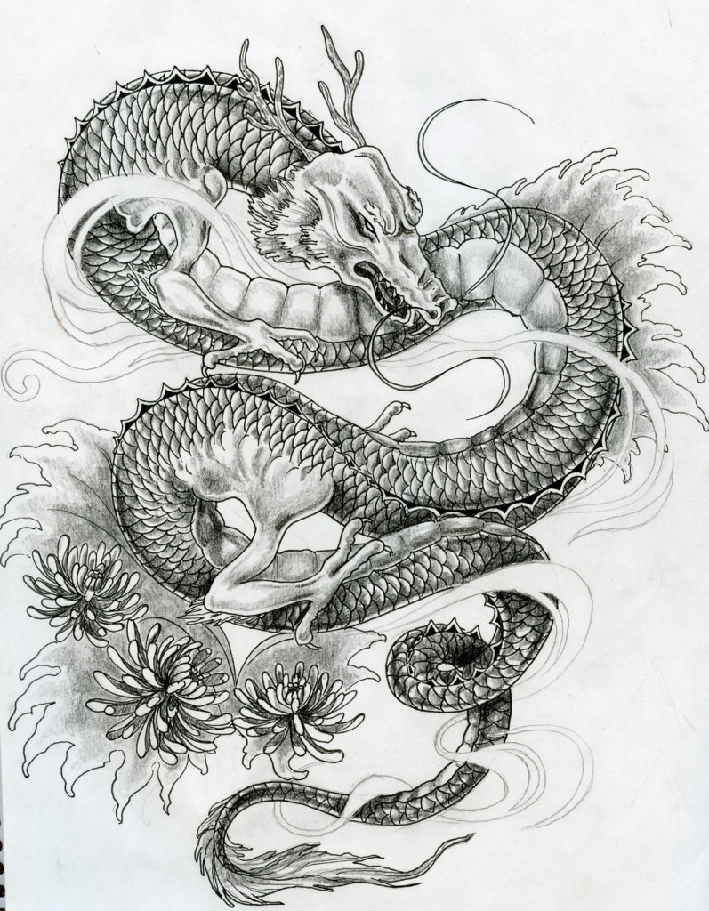 60 Awesome Dragon Tattoo Designs For Men Ideas And Designs