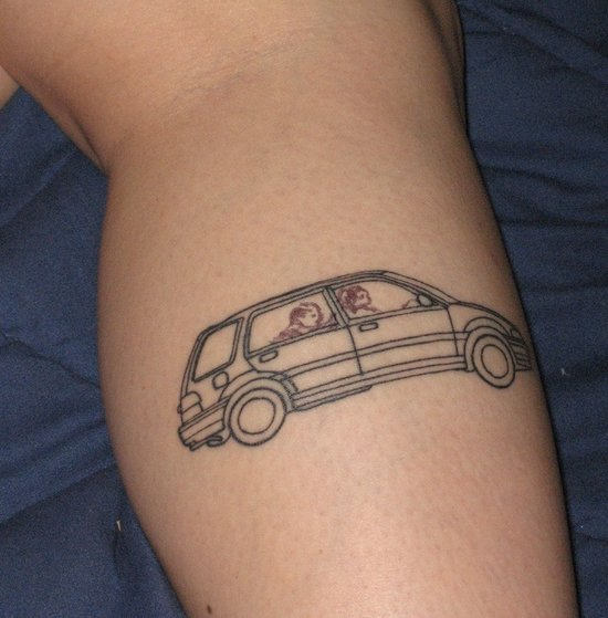 Car Tattoos Page 4 Ideas And Designs