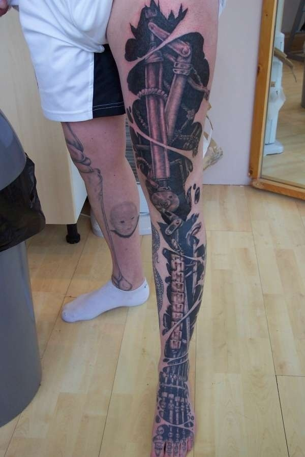 30 S*Xy Leg Tattoo Designs For Women Ideas And Designs