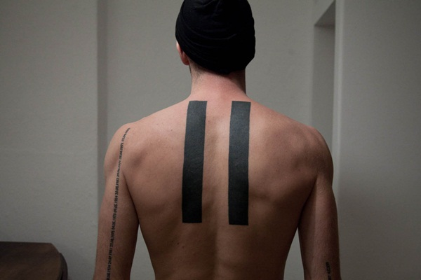 80 Line Tattoos To Wear Symbolically Ideas And Designs