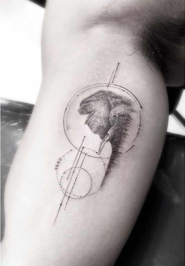 Elephant Tattoos For Men Ideas For Guys And Image Gallery Ideas And Designs