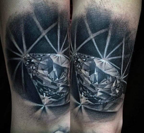 Diamond Tattoos For Men Ideas And Inspiration For Guys Ideas And Designs