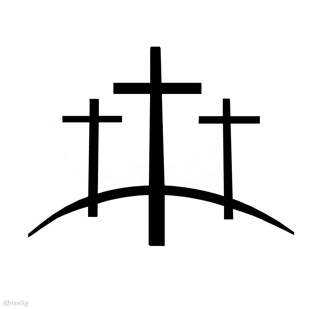 3 Crosses ← A Black White Speedpaint Drawing By Ideas And Designs