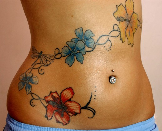 Makeover Your Belly With Stomach Tattoos Designs Ideas And Designs