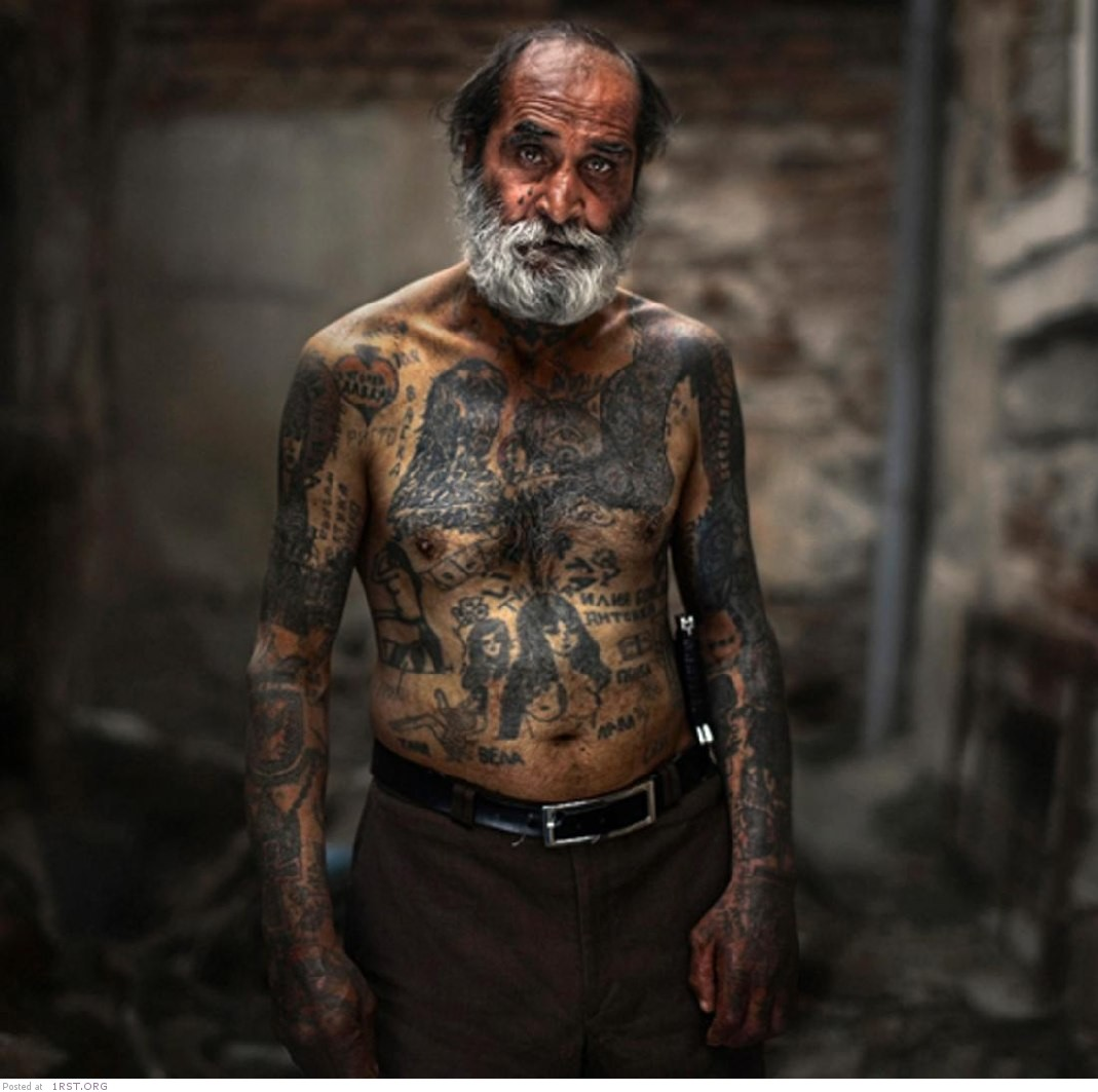Old People With Large Tattoos Ideas And Designs