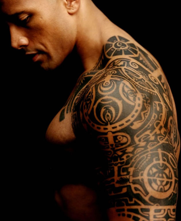 Dwyane The Rock Johnson Tattoos Pictures Images Pics Ideas And Designs
